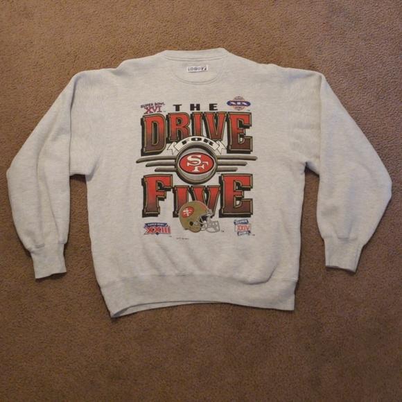 7c3cc6d77 Logo 7 Other - VTG NFL San Francisco 49ers Fan Club Sweatshirt M